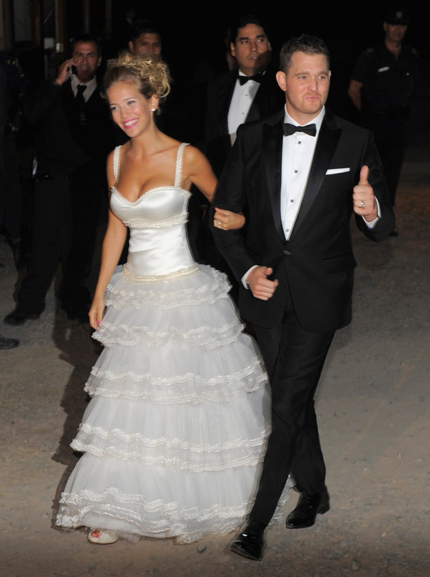 the wedding of michael buble and luisana lopilato michael buble