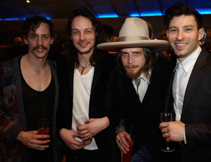 Razorlight at Vestal Vodka launch