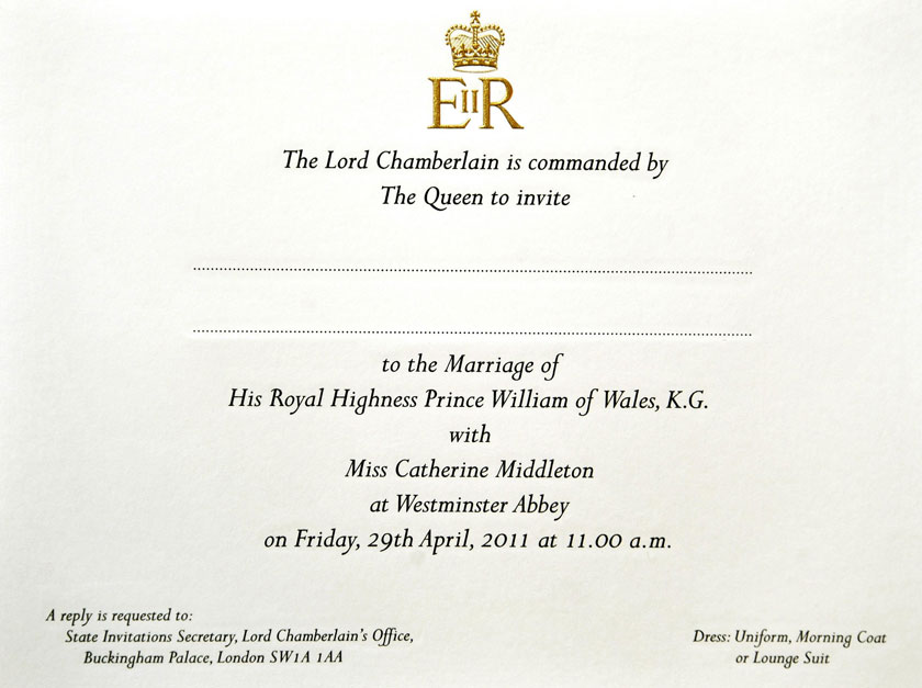 The Wedding Of Prince William And Kate Middleton Royal