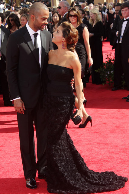 Tony Parker and Eva Longoria - What You Missed This Week - Celebrity - Marie Claire