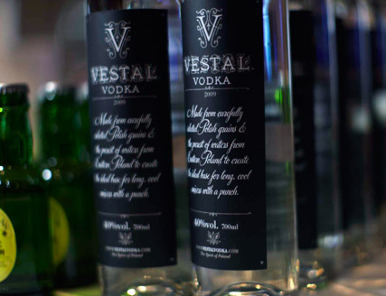 Vestal Vodka launch