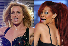 Britney Spears and Rihanna confirm duet - S&M remix