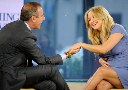 Kate Hudson announces engagement to Matt Bellamy on the Today Show