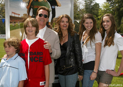 Arnold Schwarzenegger and Maria Shriver - Arnold Schwarzenegger and Maria Shriver split - Arnold Schwarzenegger - Maria Shriver - Celebrity Splits - Marie Claire - Marie Claire UK