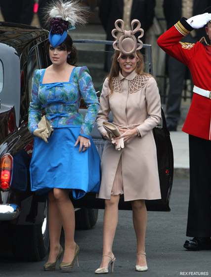Princesses Beatrice and Eugenie - Philip Treacy defends Princess Beatrice