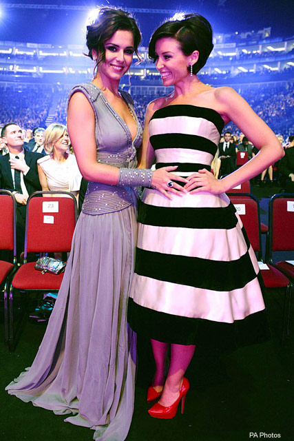 Cheryl Cole & Dannii Minogue - National Television Awards - Celebrity - Marie Claire