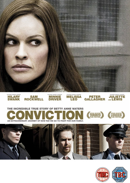 Conviction - WIN! Hilary Swank?s Conviction on DVD - Hilary Swank - Marie Claire - Marie Claire UK