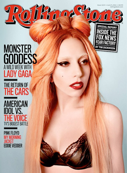 Lady Gaga - Marie Claire - Marie CLaire UK