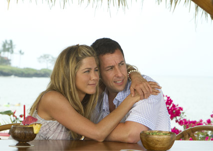 Just Go With It - WIN! Just Go With It on DVD - Jennifer Aniston - Adam Sandler - Marie Claire - Marie Claire UK