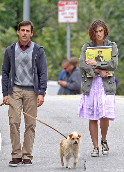 Steve Carell and Keira Knightley - PICS! Keira Knightley and Steve Carell