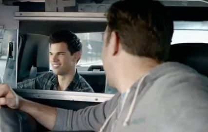 Taylor Lautner - Taylor Lautner - WATCH: Kristen Stewart and Taylor Lautner?s MTV Movie Awards promos - Robert Pattinson - MTV Movie Awards - Marie Claire - Marie Claire UK