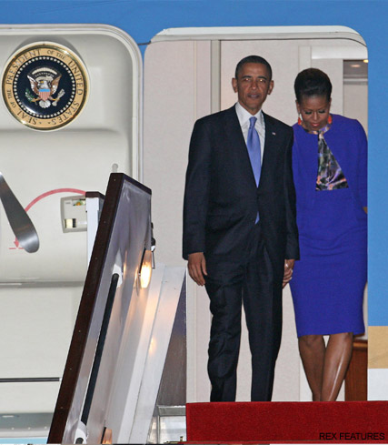 Barack Obama and First Lady Michelle Obama - Marie Claire UK