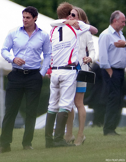 Prince Harry - PICS! Prince Harry?s polo date with Charlize theron - Prince Harry Charlize Theron - Prince Harry Chelsy Davy - Chelsy Davy - Marie Claire - Marie Claire UK