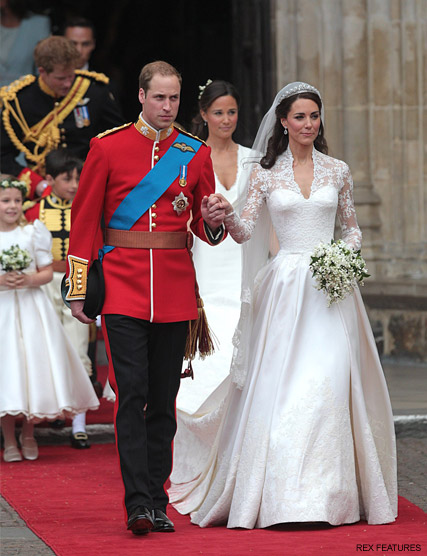 Royal wedding dresses the most iconic and dreamy gowns ever prince william kate middleton sarah ferguson speaks out over royal wedding snub royal wedding junglespirit Images