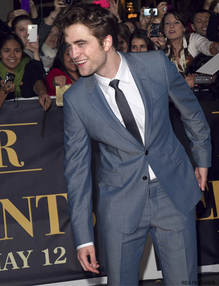 Robert Pattinson - Twilight - Breaking Dawn - Marie Claire - Marie Clarie UK