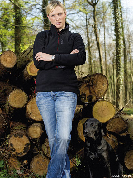 Zara Phillips - Zara Phillips strikes a pose for Country Life magazine - Country Life - Country Life Magazine - Zara Phillips Country Life - Marie Claire - Marie Clarie UK