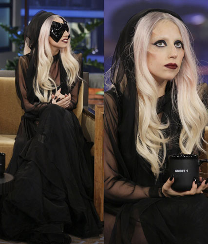 Lady Gaga on the Jay Leno show
