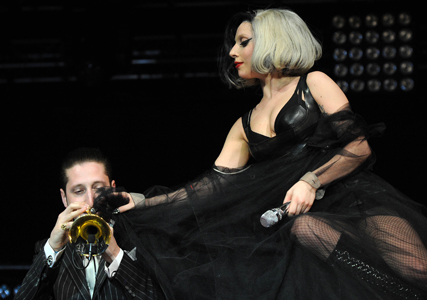Lady Gaga sings tribute to Prince William and Kate Middleton at Radio One