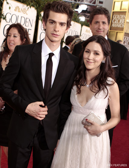 Andrew Garfield Shannon Woodward - Andrew Garfield dating Emma Stone? - Andrew Garfield dating - Spider-Man - The Amazing Spider-Man - Marie Claire - Marie Claire UK