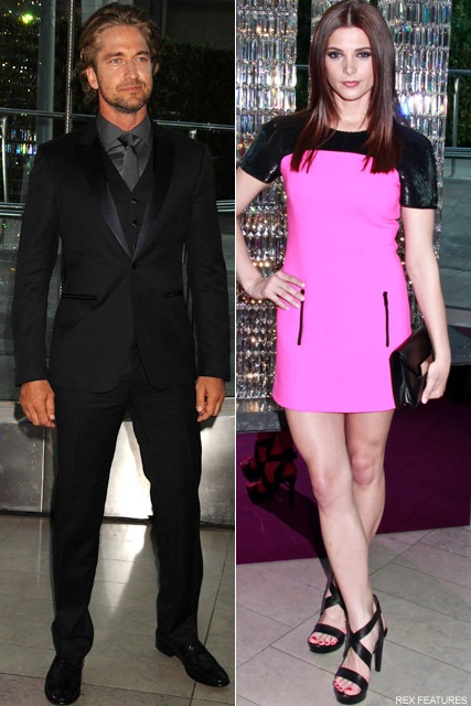 Gerard Butler Ashley Greene - Gerard Butler - Ashley Greene - Gerard Butler dating Ashley Greene? - Dating - Twilight - Marie Claire - Marie Claire UK