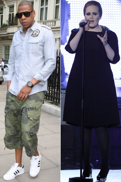 Jay-Z Adele - Adele negotiates Jay-Z deal - Adele - Jay-Z - Marie Clarie - Marie Claire UK