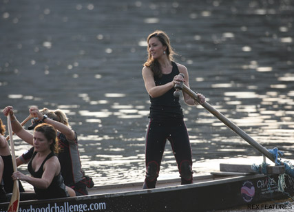 Kate Middleton - William and Kate to go head to head in boat race - Prince William - Duchess of Cambridge - Marie Claire - Marie Claire UK