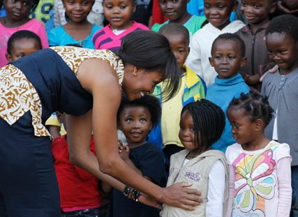 Michelle Obama in ASOS Africa