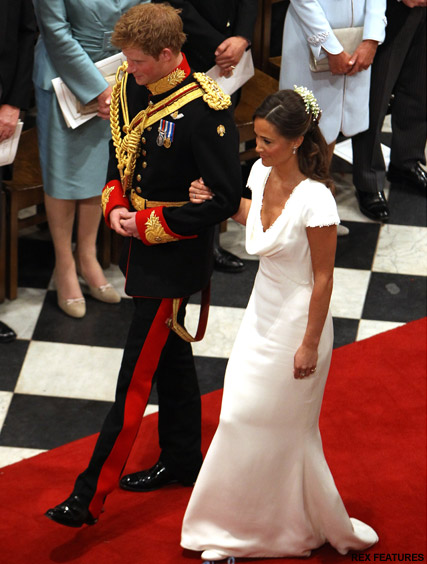 Pippa Middleton Prince Harry - Pippa Middleton's Royal Wedding Date revealed! - Pippa Middleton's Royal Wedding Date - Pippa Middleton dress - Pippa Middleton Royal Wedding - Royal Wedding - Kate Middleton - Marie Claire - Marie Clarie UK