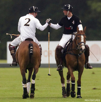 Prince William and Prince Harry - PICS! Prince William and Prince Harry