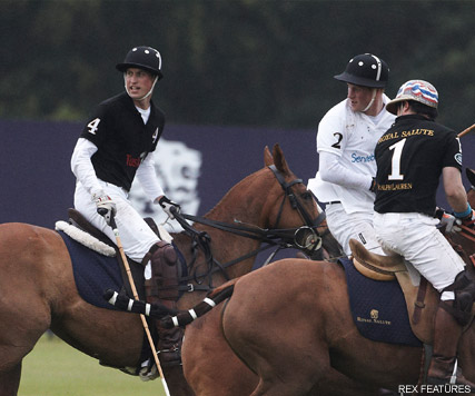 Prince William and Prince Harry - PICS! Prince William and Prince Harry's polo showdown - Prince William - Prince Harry - Kate Middleton - Polo - Marie Claire - Marie Claire UK