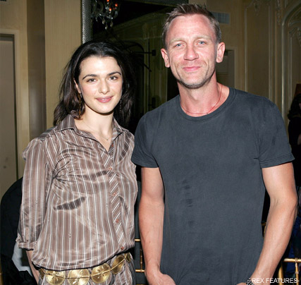 Daniel Craig and Rachel Weisz wedding