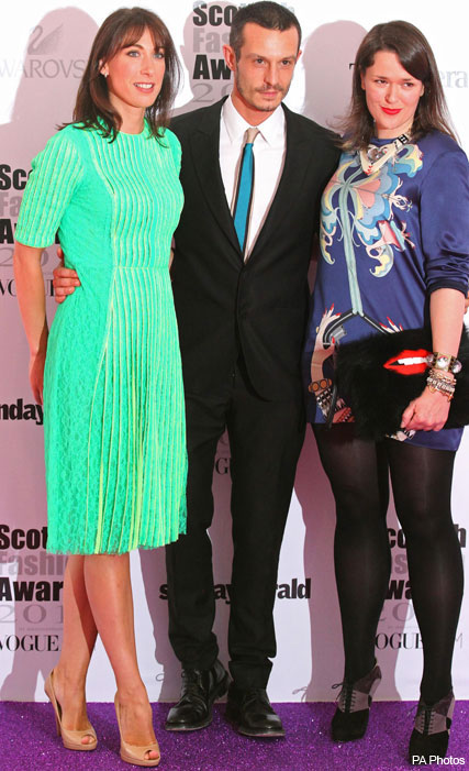 Samantha Cameron in Christopher Kane at the Scottish Fashion Awards 2011