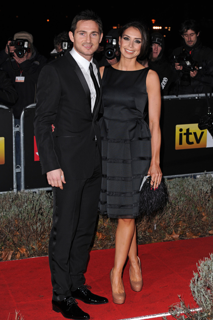 Frank Lampard and Christine Bleakley - The Sun Military Awards - Marie Claire