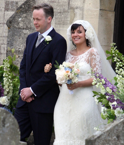 Lily Allen pregnant - Lily Allen wedding - Lily Allen and Sam Cooper