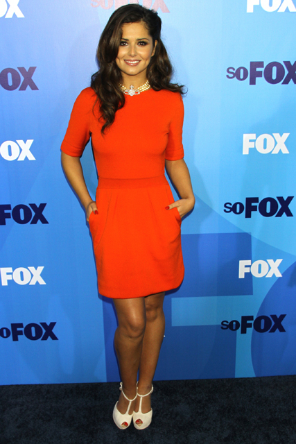Cheryl Cole at the 2011 Fox Upfront Presentation