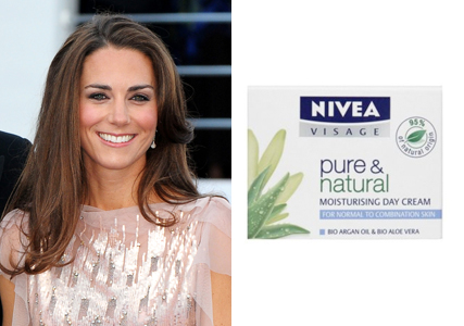 Kate Middleton beauty secret - £5 Nivea moisturiser