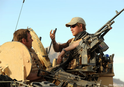 Prince Harry - Prince Harry to get secret identity for Afghanistan mission - Prince Harry Afghanistan - Prince Harry army - Marie Claire - Marie Claire UK