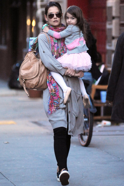 Katie Holmes & Suri Cruise - Katie Holmes - Suri Cruise - Tom Crusie - Suri Cruise Style - Marie Claire - Marie Claire UK