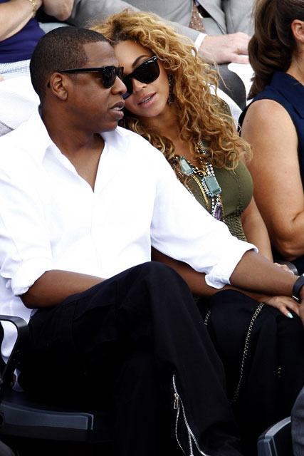 Beyonce & Jay-Z - Beyonce - Jay-Z - Beyonce talks children and joining Jay-Z on tour - Beyonce The View - Marie Claire - Marie Claire UK