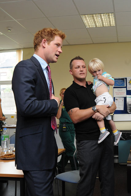 Prince Harry - Prince Harry praises riot responders - UK Riots - Manchester Riots -  Prince Harry Riots - Marie Claire - Marie Claire UK