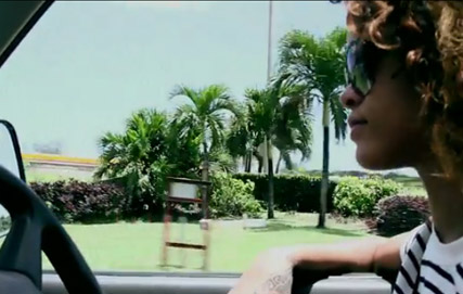 Rihanna - FIRST LOOK! Rihanna debuts Cheers video - Rihanna Cheers - Rihanna new video - Marie Claire - Maire CLaire UK