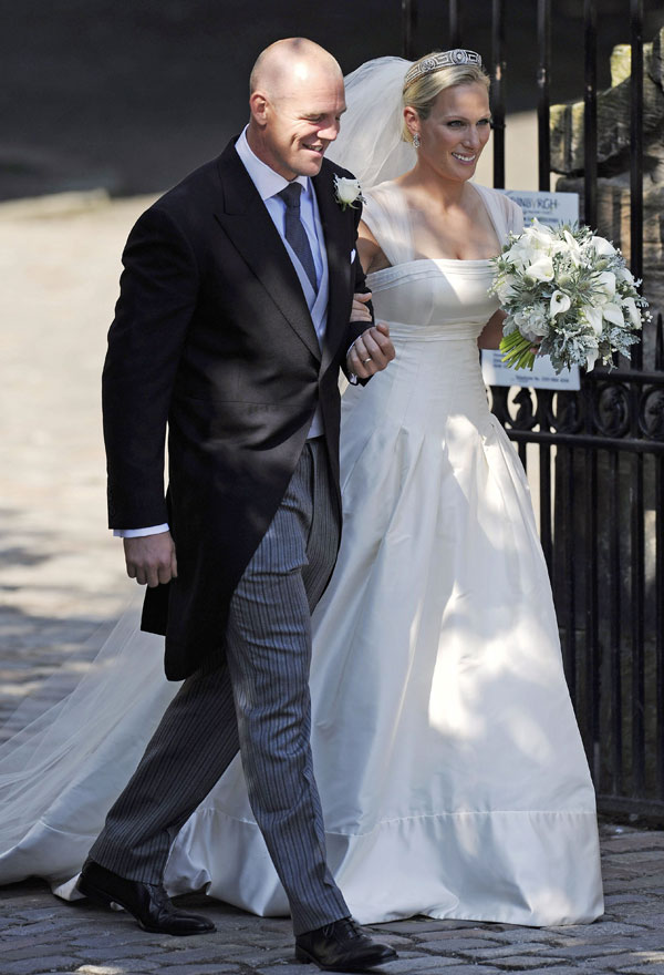 The Wedding Of Zara Phillips And Mike Tindall Kate