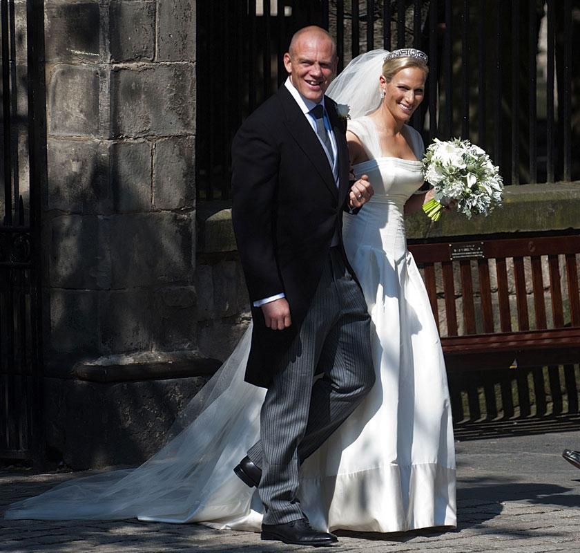 191dbc1d The Wedding Of Zara Phillips and Mike Tindall | Kate Middleton ...