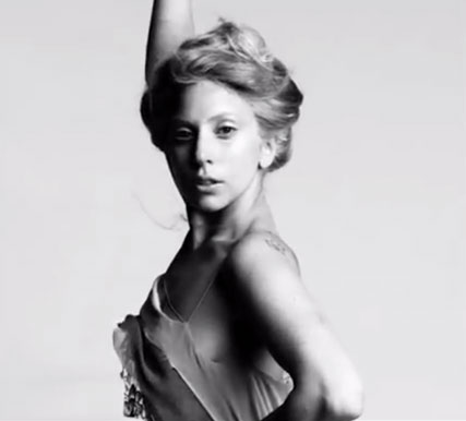 lady gaga - you and I - fashion film - video