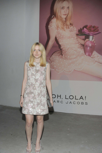 Dirty Hollywood: Dakota Fannings Ad For a New Marc Jacobs