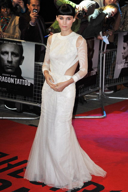 Rooney Mara - Daniel Craig - The Girl With The Dragon Tattoo - Rooney Mara dazzles at Dragon Tattoo premiere - Marie Claire - Marie Claire UK