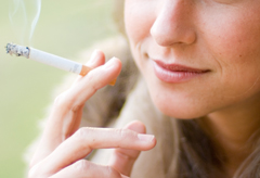 Smoking damages the body in minutes