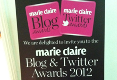 Marie Claire Blog & Twitter Awards 2012-Marie Claire UK
