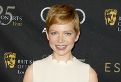 Michelle Williams at the BAFTA Awards Season Tea Party 2012
