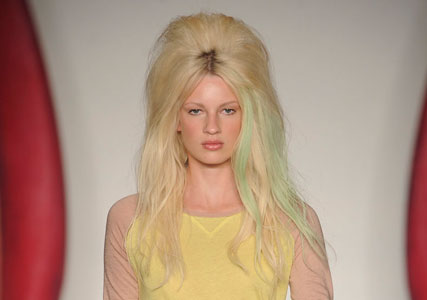 Mulberry catwalk hair S/S'12